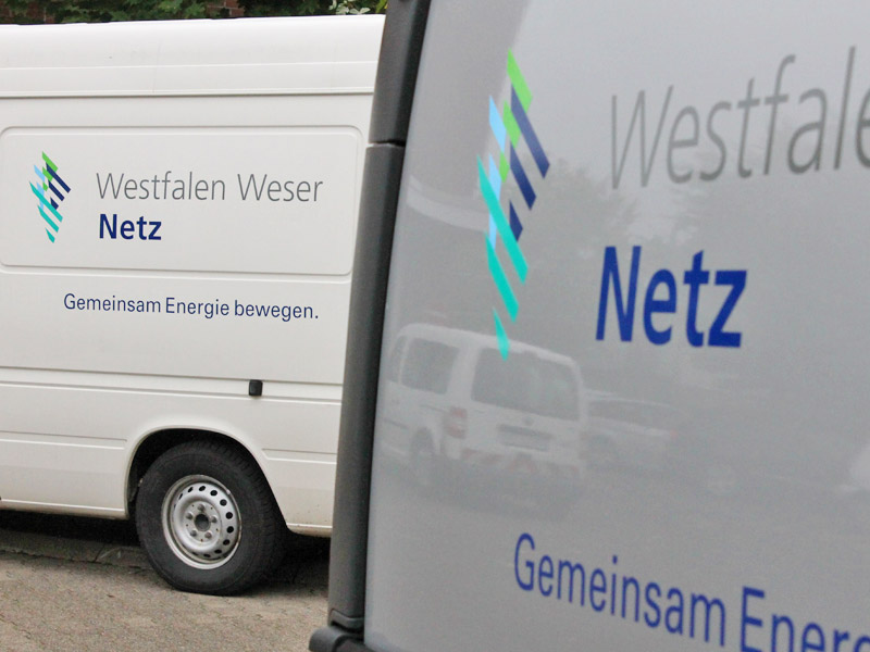 Re-Branding E.ON Westfalen Weser