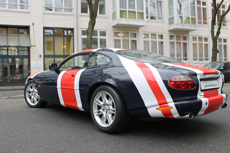 Union Jack, Jaguar XK8